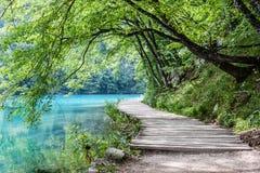 Lacs Plitvice photo stock