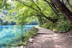 Lacs Plitvice photo libre de droits