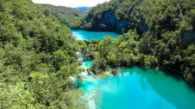 Lacs Plitvice photos libres de droits