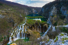 Lacs Plitvice images libres de droits