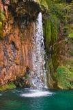 Lacs Plitvice en Croatie photo libre de droits