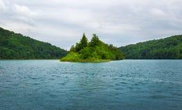 Lacs Plitvice en Croatie Image stock