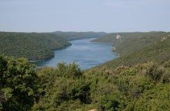 Lacs Plitvice, parc national Image stock