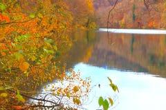 Lacs Plitvice, parc national, Croatie photos libres de droits