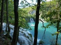 Lacs Plitvicka Image libre de droits