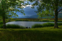 Lacs près de Godech Images libres de droits