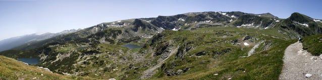 Lacs Rila Photo libre de droits
