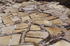 Lacs salt Pérou Images libres de droits