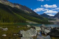 Lacs scéniques consolation Photo libre de droits