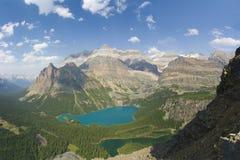 Lacs scéniques de montagne photographie stock libre de droits