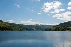 Lacs summertime dans les balises de Brecon du Pays de Galles Photo libre de droits
