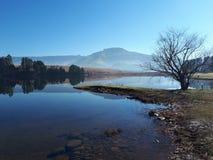 Lacs Underberg - Afrique du Sud Image stock