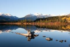Lacs vermeils photo stock