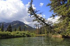 Lacs vermeils Photographie stock