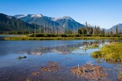 Lacs vermeils Images stock