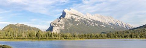 Lacs vermillons Image libre de droits