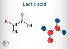 Lactic acid, lactate, milk sugar, C3H6O3 molecule. It is food additive E270 and alpha-hydroxy acid AHA.  Structural chemical
