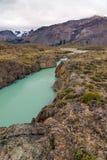 Lactic River. Parque Nacional Perito Moreno Stock Image