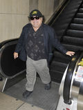 LActor Danny Devito is seen at LAX Stock Photo