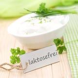 Lactose free Stock Image