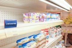 Lactose-free Στοκ φωτογραφίες με δικαίωμα ελεύθερης χρήσης