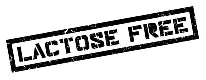 Lactose free rubber stamp Stock Photo