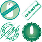 Lactose free Stock Images