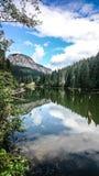 Lacul RoÈ™u stock image
