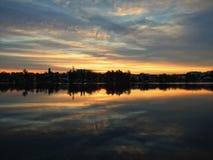 Lacul Tei Photo stock