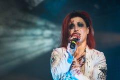 Lacunerol in Live Music Club MI 28-11-2016 stock fotografie