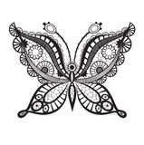 Lacy abstract butterfly Royalty Free Stock Photography