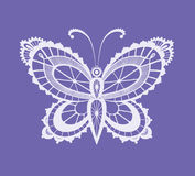 Lacy abstract butterfly Stock Photo