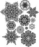 Lacy arabesque designs Royalty Free Stock Photos