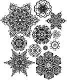 Lacy arabesque designs Royalty Free Stock Photos