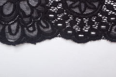Lacy black cloth Stock Photography