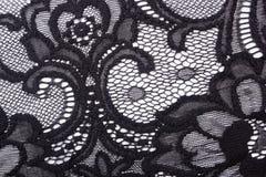 Lacy black cloth Royalty Free Stock Photo