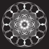 Lacy Circle ilustración del vector