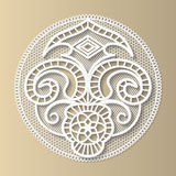 Lacy design element, the European medieval pattern Royalty Free Stock Images