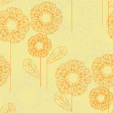 Lacy flower pattern Royalty Free Stock Image