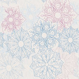 Lacy flower pattern Stock Photo