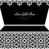 Lacy gift box Royalty Free Stock Photo