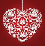 Lacy heart Stock Photos