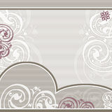 Lacy pastel background / frame Stock Image