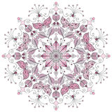 Pastel round pattern Royalty Free Stock Photos
