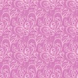 Lacy seamless pattern Stock Photos