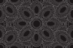 Lacy segment seamless pattern  background Royalty Free Stock Images