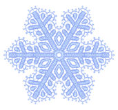 Lacy snowflake. Royalty Free Stock Image