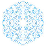 Lacy snowflake Stock Photography