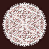 Lacy style. Background from a vector ornament, lacy style Stock Photo