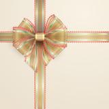 lacy tappning för bow Arkivbild